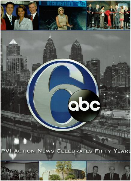 WPVI action news celebrates fifty years book cover