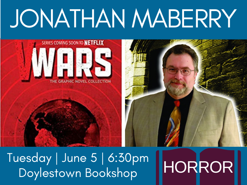 jonathan maberry front page event banner