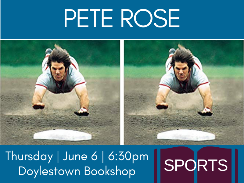 pete rose front page event banner