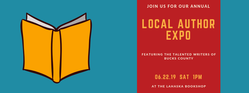 Lahaska Local Author Expo Banner