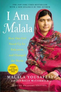 Book Cover of I Am Malala: How One Girl Stood Up for Education and Changed the World (Young Readers Edition)
