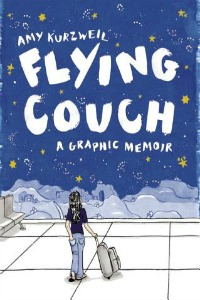 Book cover of Flying Couch: A Graphic Memoir