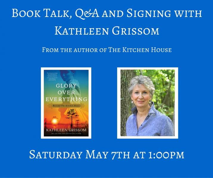 Kitchen House Book book talk, q&a and signing with kathleen grissom | https://www