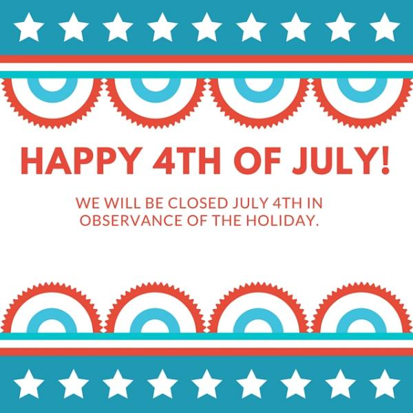 Image result for closed 4th of july