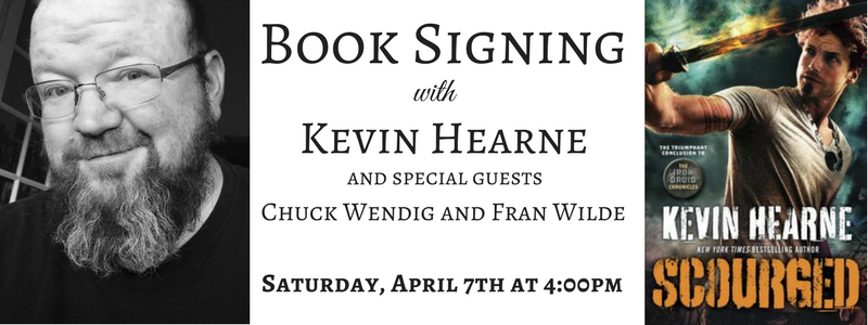 Book Signing with Kevin Hearne