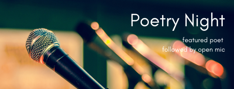 Poetry night banner