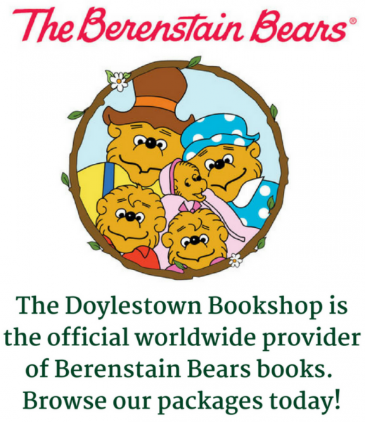 The Doylestown Bookshop is the official worldwide provider of Berenstain Bears books. Browse our packages today!