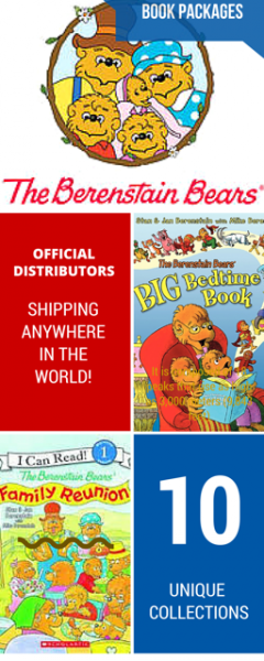 Banner for The Berenstain Bears Book Packages | Official distributors, shipping anywhere in the world! | 10 unique collections