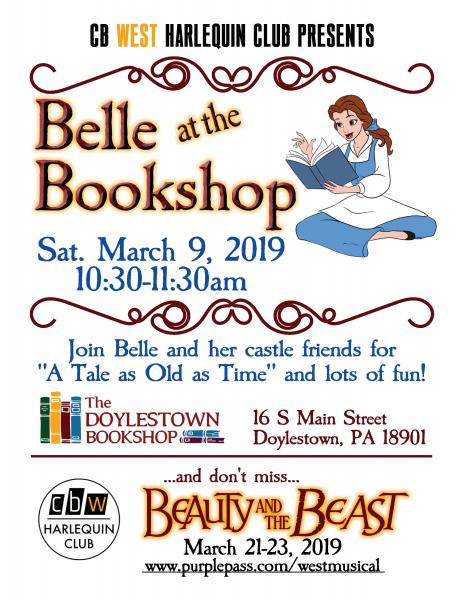 belle and the bookstore