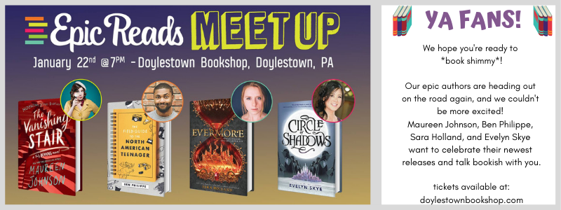epic reads meet up event banner