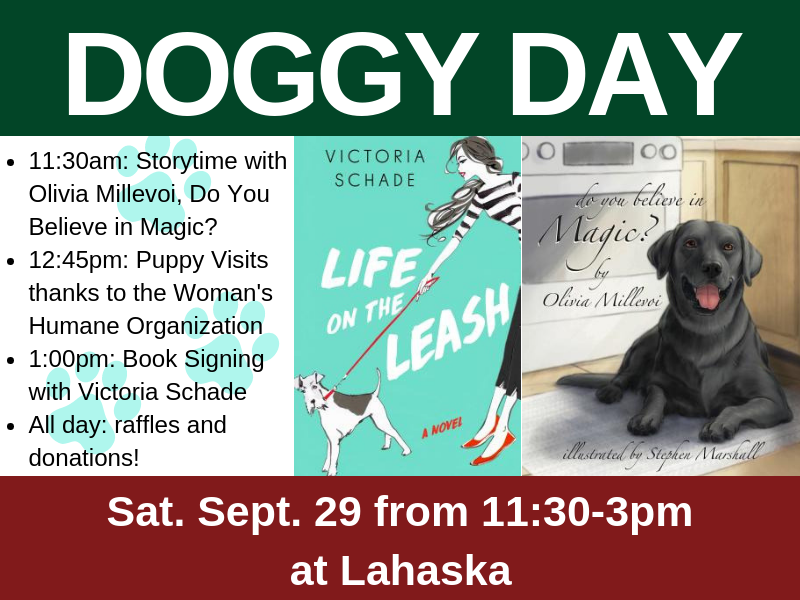 DOGGY DAY on Sat. Sept. 29 from 11:30-3pm at Lahaska