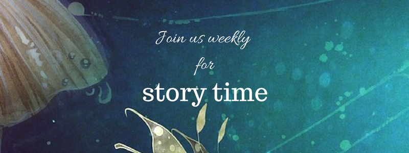 Join us weekly for story time